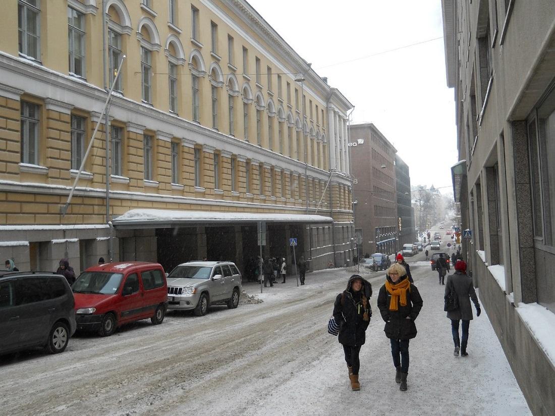 Здание Университета Хельсинки изображение с сайта www.HeiHei.ru