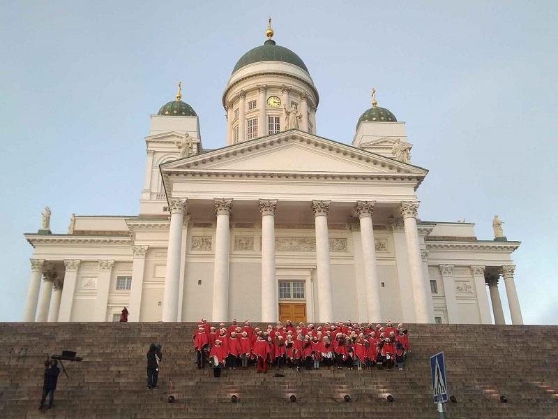 Открытие рождественского сезона в Хельсинки